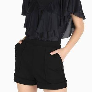 Push it cuffed shorts S NWT